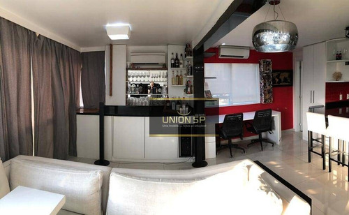 Apartamento Com 1 Dormitório À Venda, 59 M² Por R$ 800.000,00 - Brooklin - São Paulo/sp - Ap47722