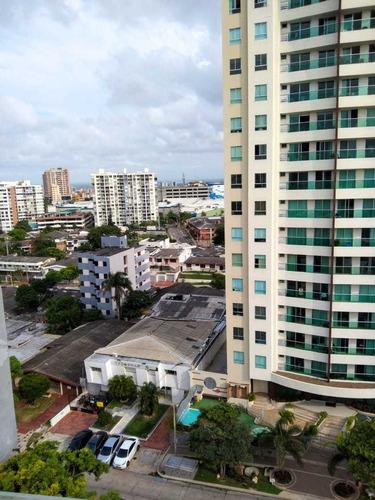 Imagen 1 de 14 de Vendo Apartamento En Ciudad Jardín, Barranquilla