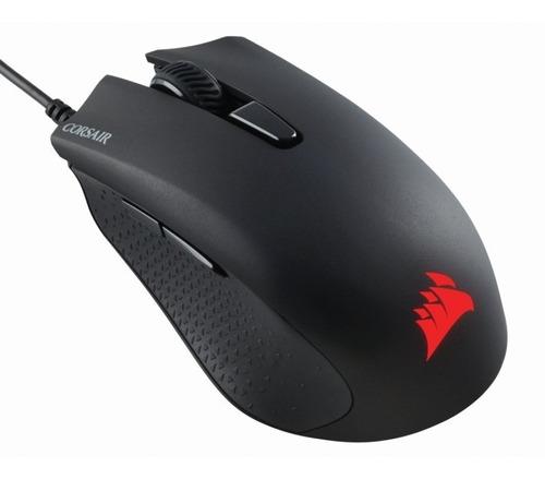 Mouse Corsair Harpoon Pro Gaming, Optico Usb, 6 Botones Prog