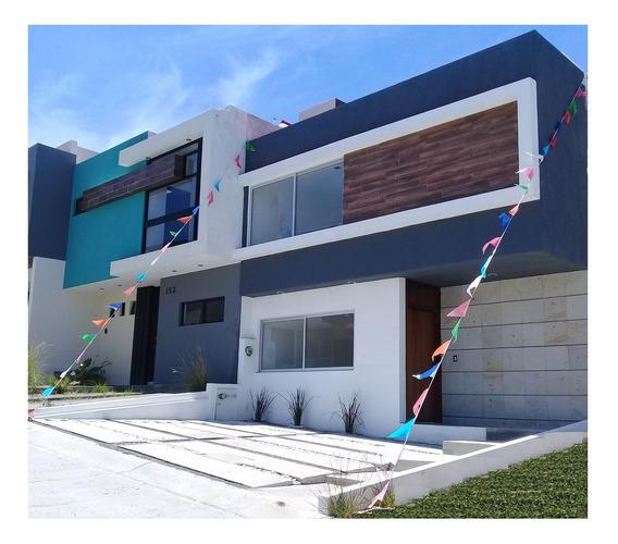 Casa Nueva En Guadalajara. 17 Mins. Pza Del Sol