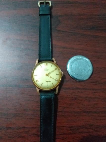 Relógio Tovari De Corda Funcionando Perfeitamente 17 Rubis