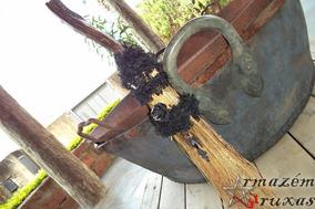 Vassoura Da Bruxa Halloween