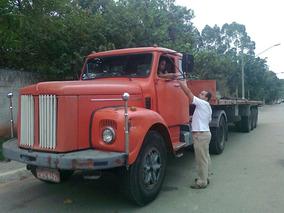 Scania 110 Com Motor 112 Cambio 113 Com Carreta Engatada