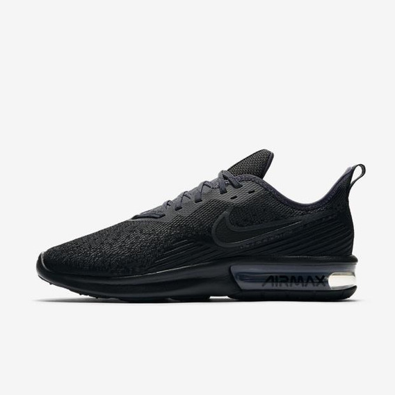 Tênis Masculino Nike Air Max Sequent 4 Preto Original