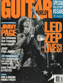 Guitar World Enero 1991 Led Zeppelin