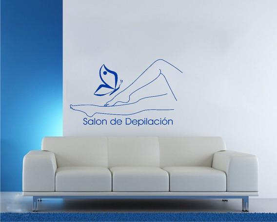 Vinilo Pared Depilacion Salon Wall Stickers
