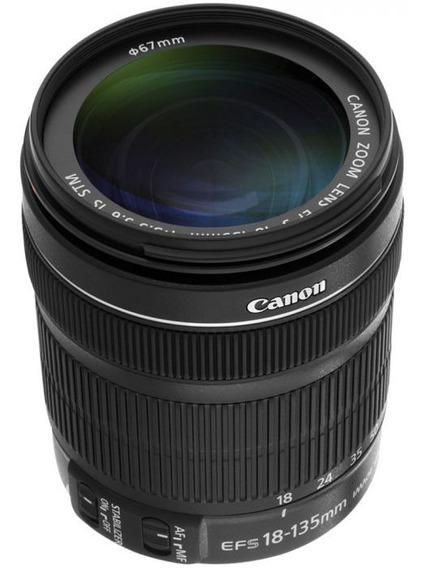 Lente Canon Ef-s 18-135mm F/3.5-5.6 Is Stm - Envio Hoje