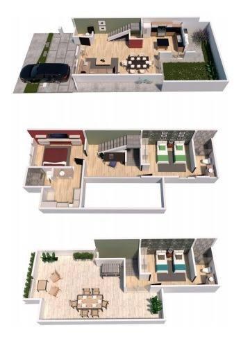 Casa En Condominio En Zibatá, Querétaro