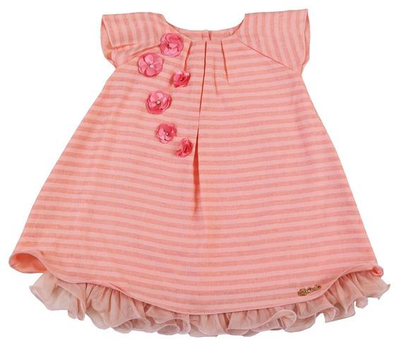 Roupa Infantil Vestido Tamanho G Para Bebê