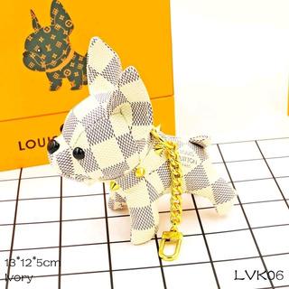 Chaveiro Charme Louis Vuitton Bulldog