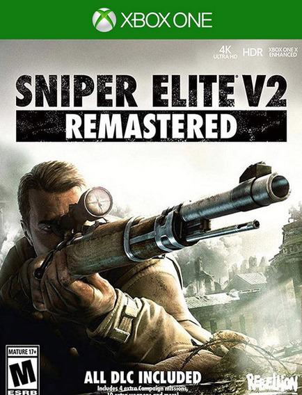Sniper Elite V2 Remastered Xbox One - 100% Original (25 Díg)