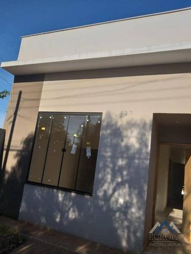 Imagem 1 de 11 de Casa À Venda, 60 M² Por R$ 165.000,00 - Jardim Belém - Londrina/pr - Ca1026