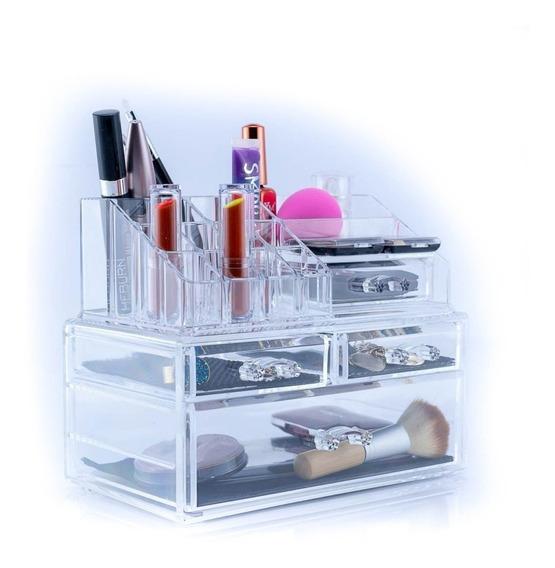 Organizador Acrílico Para Cosméticos Y Maquillaje 81108133