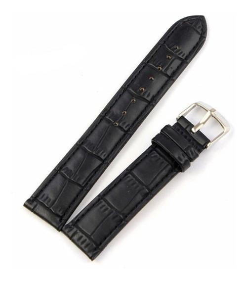 Extensible Correa Reloj De 20 Mm. Negra