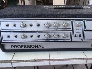 Consola Decoud 100 Wats Valvular N0 Peavey Shure Fender Boss