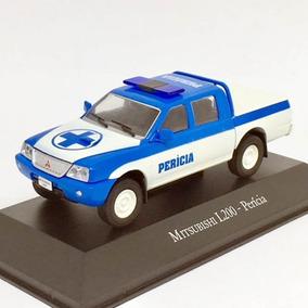 Miniatura De Carro Mitsubishi L200 Perícia 1:43 Ixo