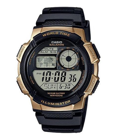 Relógio Casio Digital Ae-1000w-1a3vdf - Frete Grátis