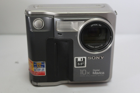 Câmera Fotografica Sony Mavica Mvc-fd7 Retro Para Coleção