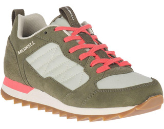 Zapatilla Mujer Alpine Sneaker Verde Claro Merrell