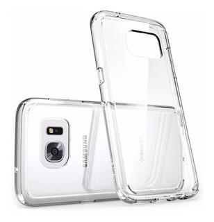 Capa Anti Impacto Para Galaxy S7 G930 Ikase Crystal Original