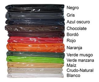 Combo 6 Indivuduales De Ecocuero 45x35 Con Costura