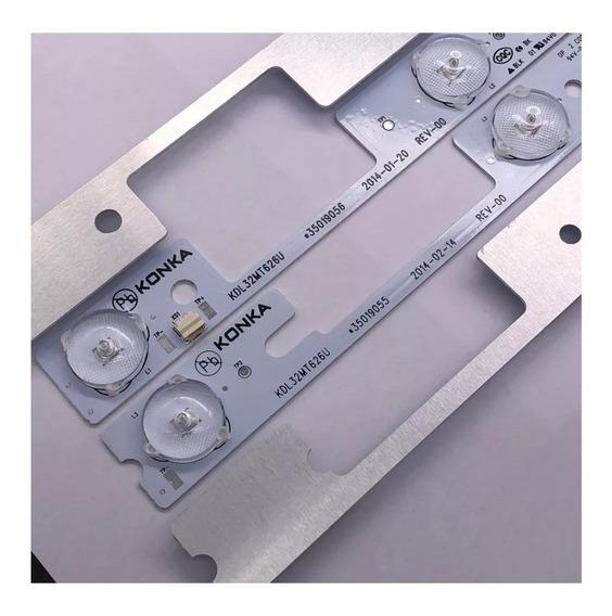 Kit Barra Led Tv Semp Toshiba 32l2400 - 4 Barras Novas