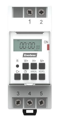 Temporizador Digital Para Trilho Din 220v