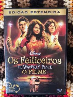 Dvd Os Feiticeiros De Waverly Place - O Filme - Original