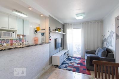 Apartamento No 9º Andar Com 2 Dormitórios E 1 Garagem - Id: 892920661 - 220661