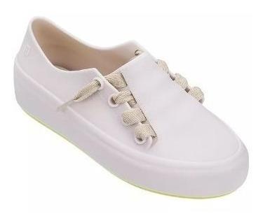 Tenis Infantil Melissa Mel Ulitsa Sneaker Bege Amarelo 32539