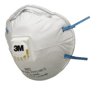Respirador Barbijo 3m N95 8822 Valvula X 1 Un Pff2
