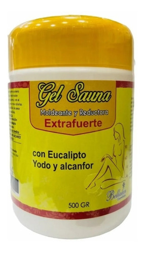 Gel Reductor Caliente Sauna Extra Fuerte - g a $31