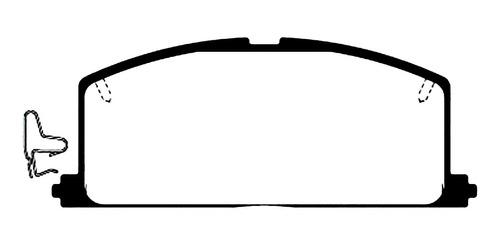 Pastilla Freno Toyota Corolla 1988/1995