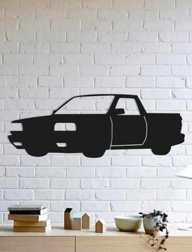 Quadro Decorativo Parede Veículos Saveiro Quadrada 90cm