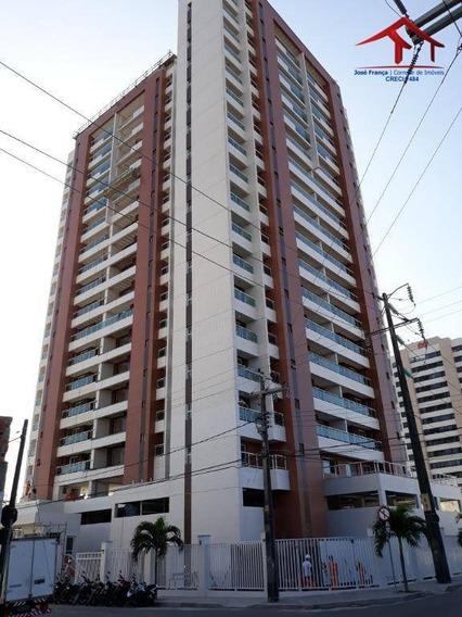 Apartamento Residencial À Venda, Fátima, Fortaleza. - Ap0329