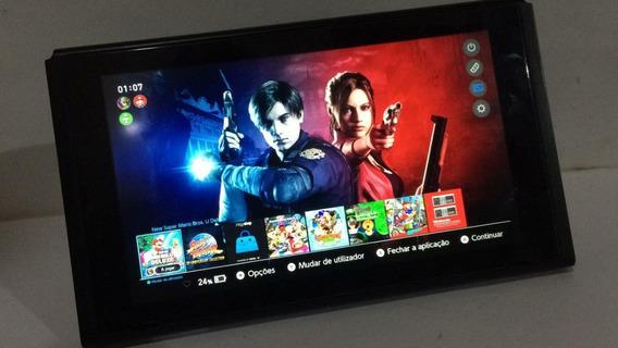 Nintendo Switch Desbloqueado 64gbs De Jogos_completo_nitendo
