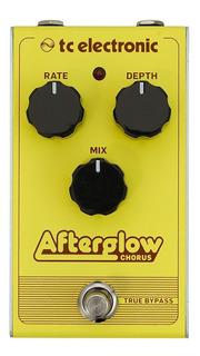 Pedal Efecto Guitarra Tc Electronic Afterglow Chorus