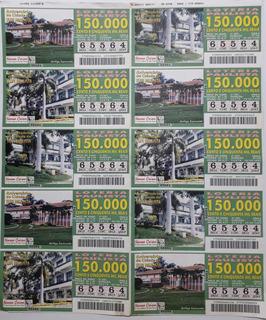 Bilhete Da Loteria Paulista : Aniversário De Tupi Paulista