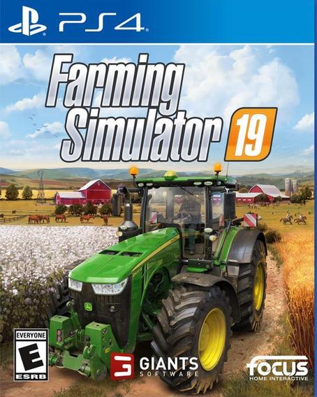 Farming Simulator 19 | Ps4 2 | Lançamento