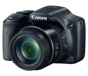 Maquina Fotográfica Canon Powershot Sx520 Hs 16mp Z.o. 42x