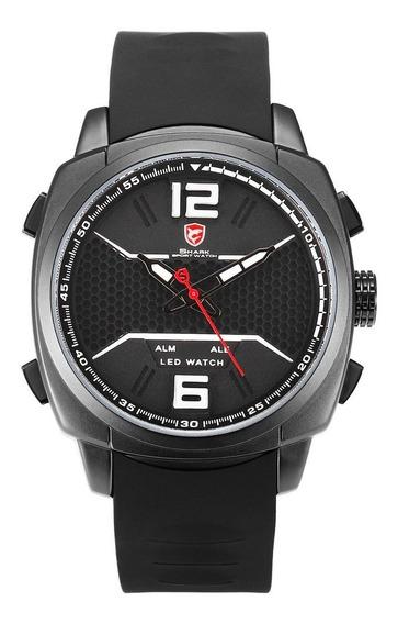 Desh076 Double Display Quartzo Relógio De Quartzo Decoração