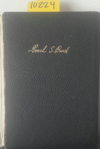 Imagen 1 de 2 de Novelas Tomo V // Pearl S Buck C1