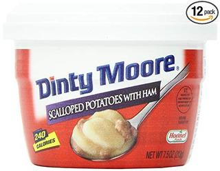 Patatas Dinty Moore Festoneados Con Jamón, 7,5 Onzas Para Mi