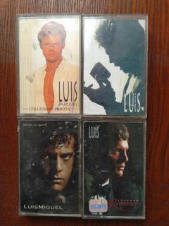 Cassettes Luis Miguel