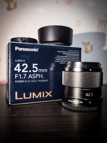 Lente Lumix Panasonic 42.5mm 1.7 Gh4/gh5