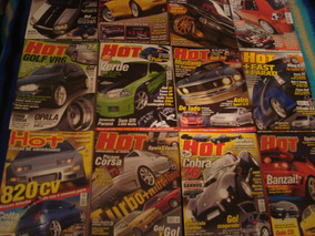 Lote De Revistas Novas Hot Car; 13 Ed