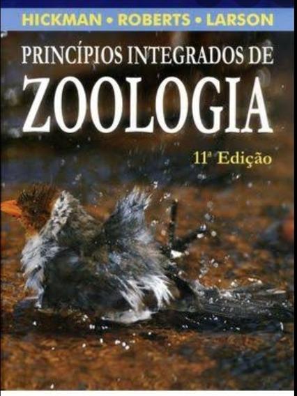 Livro Princípios Integrados De Zoologia. 11°ed. 2004.