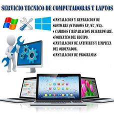 Servicio Técnico Pc Y Laptops