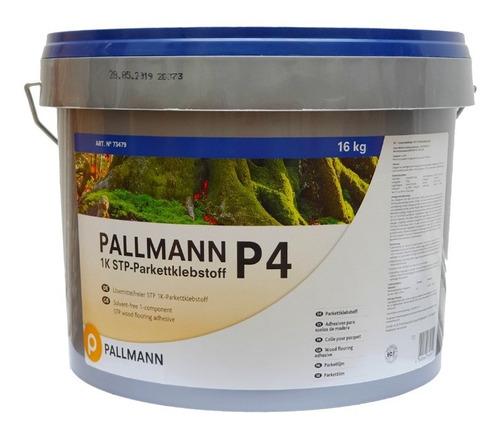 Pegamento - Adhesivo Para Pisos De Madera Pallmann P4 - 16kg