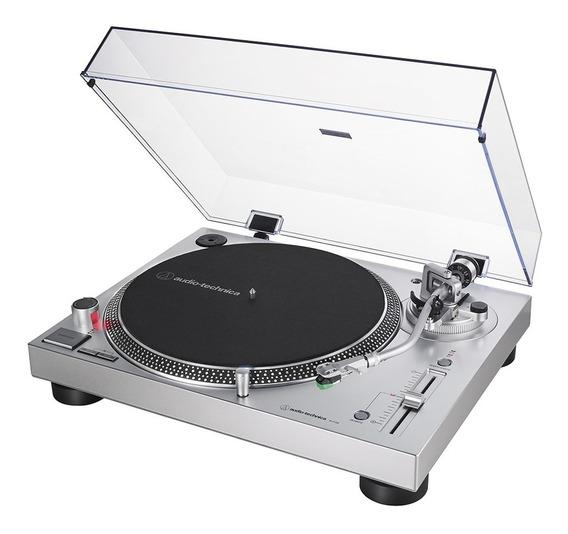 Toca-discos Audio-technica At-lp120xusb-sv (direct Drive)